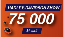 Shangri La Casino Minsk: Harley-Davidson Show on April 21, 2018